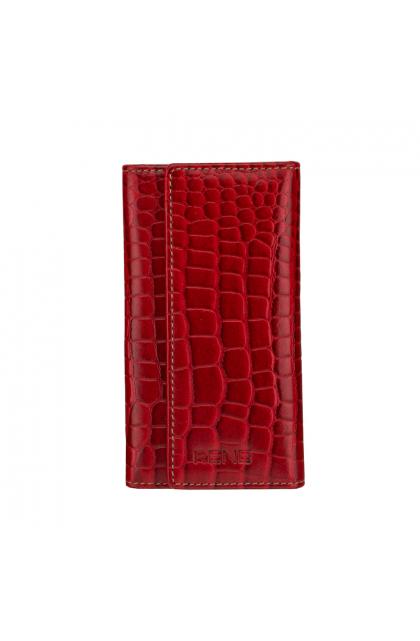 Rene Rubino Genuine Leather Slim Key Case