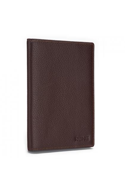 Rene Brown Genuine Leather Passport Holder