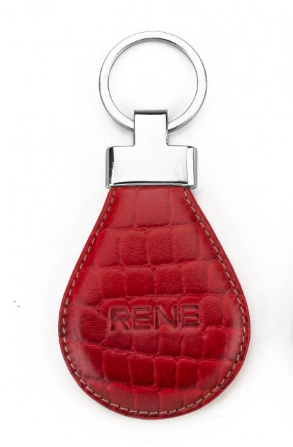 Rubino Genuine Leather Key Ring