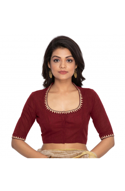 Red South Cotton Blouse