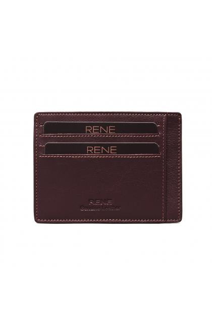 Genuine Leather Brown Card Holder