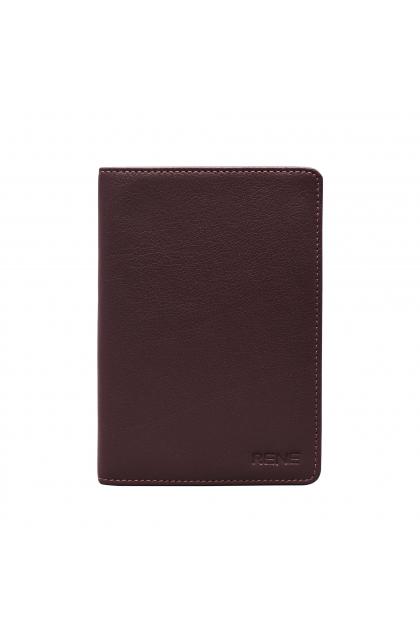 Genuine Leather Brown  Passport Holder