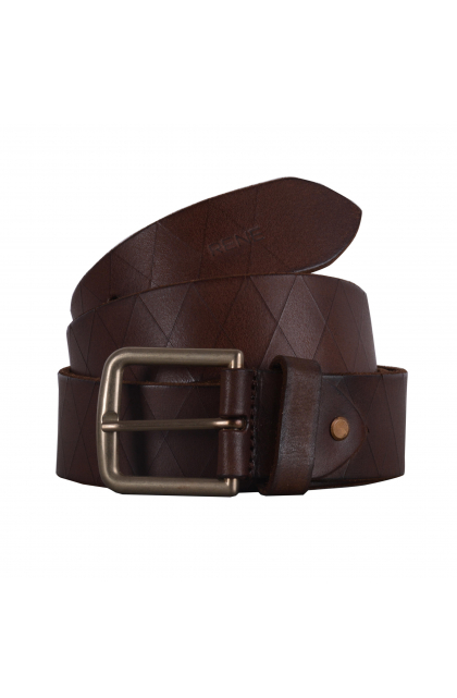 Men Brown  Genuine Leather Casual Belt