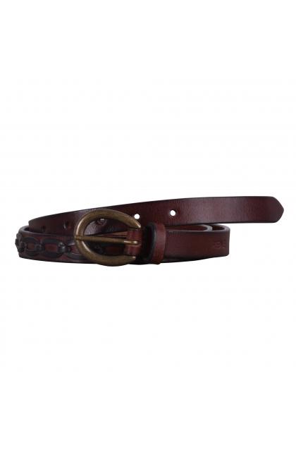 Women Brown Genuine Leather Casual Belt