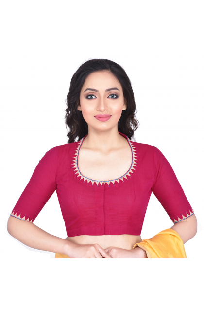 Rani South Cotton Embroidered Blouse