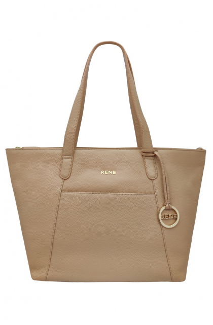GENUINE LEATHER BUTTER SCOTCH LADIES BAG