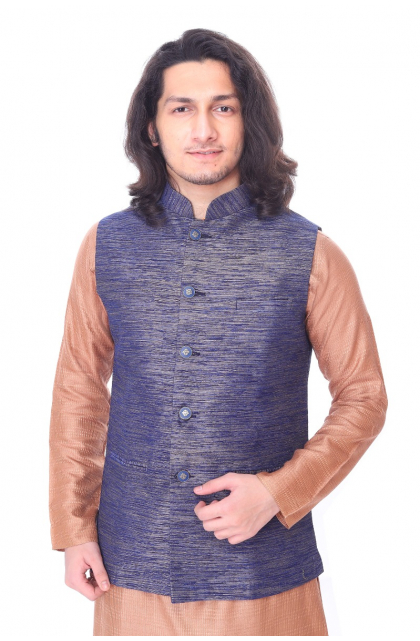 BANDI SET-KURTA & ETHNIC JACKET