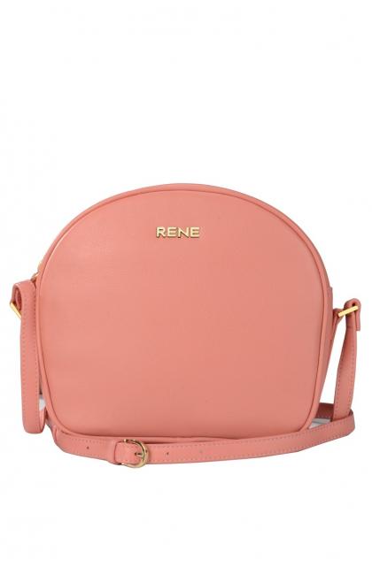 Genuine Leather L.T-Pink Sling Bag