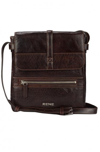 Genuine Leather Brown Sling Bag