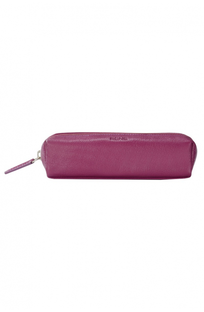 Genuine Leather Purple Pouch
