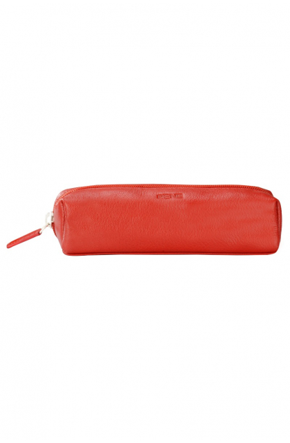 Genuine Leather Red Pouch