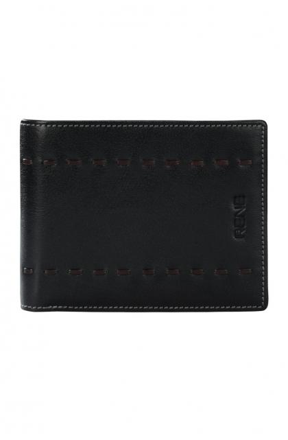 Genuine Leather Black/Brown Gents Wallet