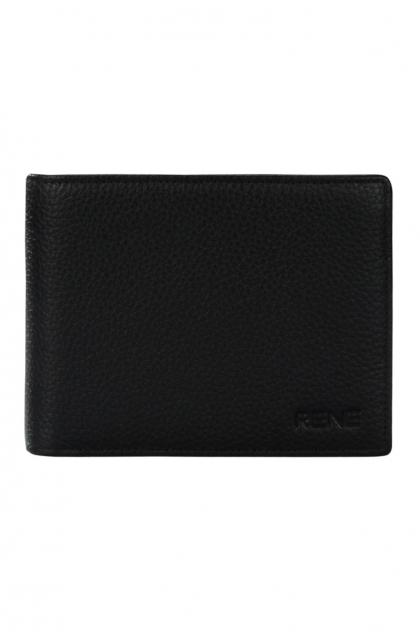 Genuine Leather Black Gents Wallet