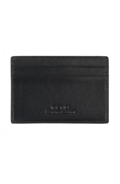 Genuine Leather Black Card Holde