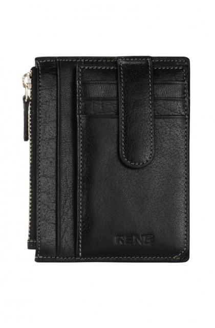 Genuine Leather Black Card Holder
