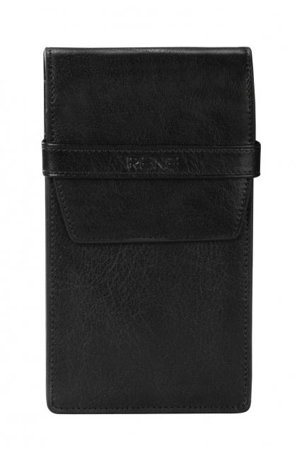 Genuine Leather Black Mobile Cover
