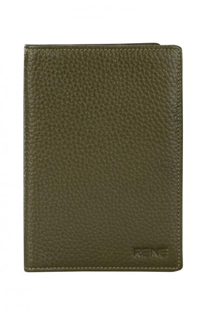Genuine Leather Olive Passport Holder